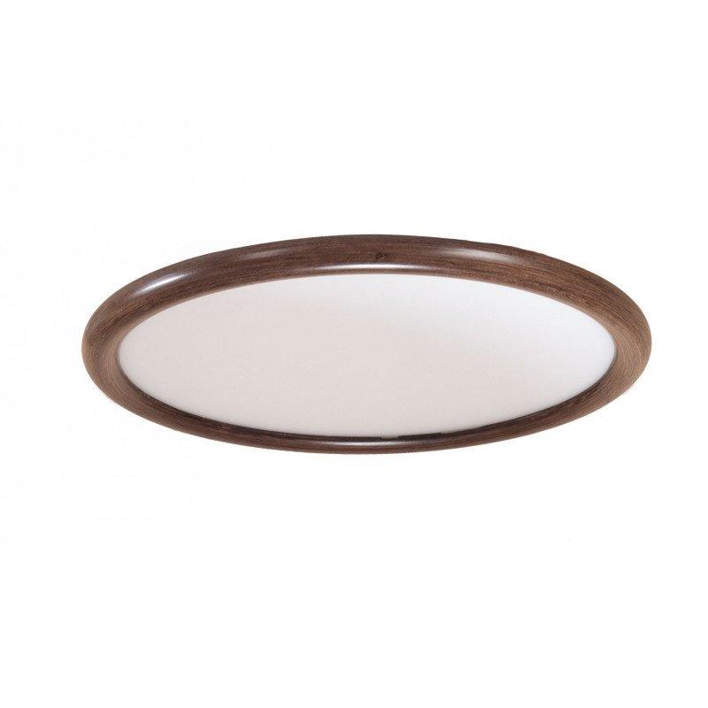 Modulo La plaque couleur bois, Kit lumineux led 1900 Lms 4500 Kv grand angle pour ventilateur de plafond.