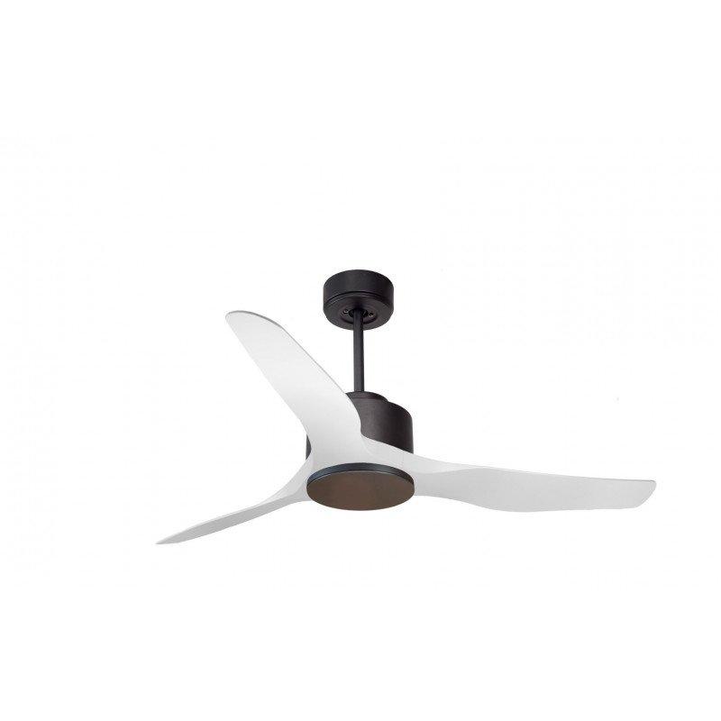 Modulo de KlassFan - Ventilateur DC de plafond sans Lumière gris et blanc idéal pour 25 à 40 m² ultra efficace