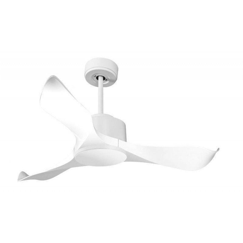 Modulo By Klfan White Ceiling Fan Dc Without Light Ideal For 20 To 30 M²