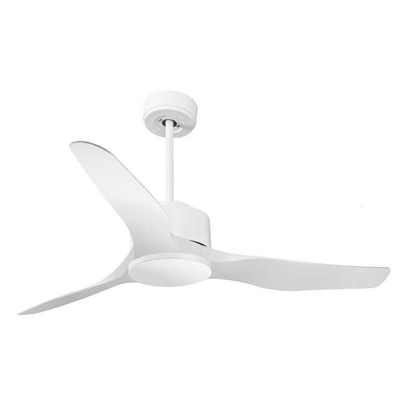 Modulo de KlassFan - Ventilateur DC de plafond sans Lumière Blanc idéal pour 25 à 40 m² KL_DC4_P4Wi