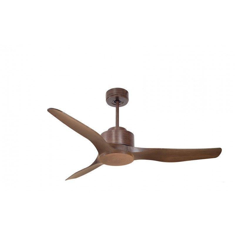 Modulo de KlassFan - Ventilateur DC de plafond sans Lumière couleur bois idéal pour 25 à 40 m² KL_DC2_P4Wo