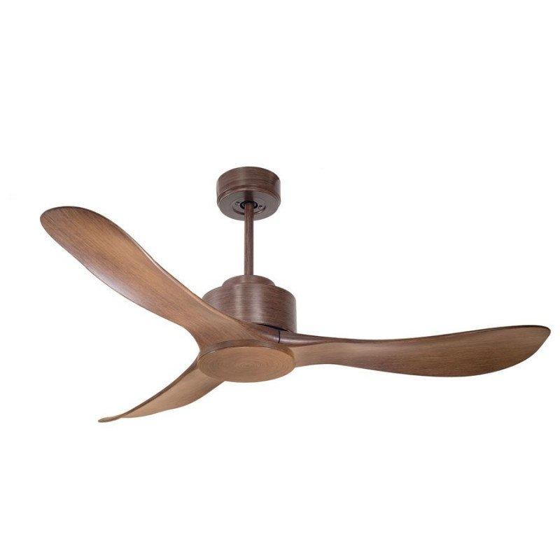 Modulo de KlassFan - Ventilateur DC de plafond sans Lumière couleur bois idéal pour 25 à 40 m² KL_DC2_P3Wo