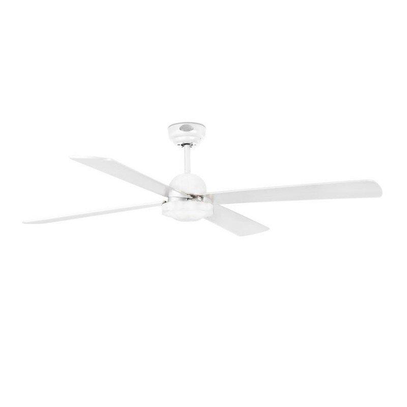 Modern Ceiling Fan 132 Cm White Ibiza Faro 33284
