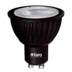 Pack de 4 ampoules LED GU10 LED 5W BLANCHE CHAUDE 45°