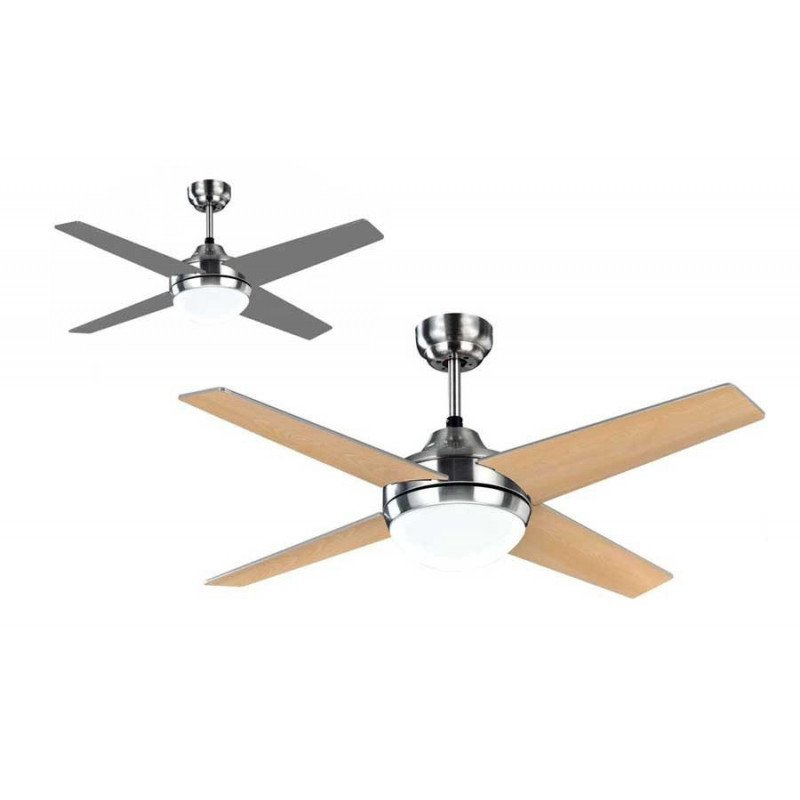 design ceiling fan with LED light and remote control, last ... on
