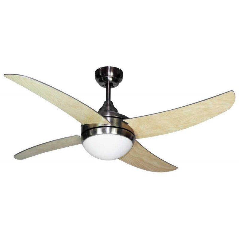 Artushetre de Lba home un ventilateur pour chambre avec télécommande et point lumineux.