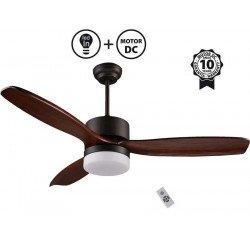 Потолочной вентилятор, современной 106 см. белый, Фару MINI МАЙОРКА 33603