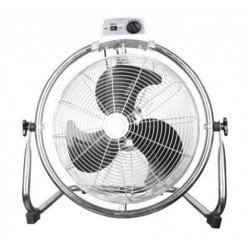 High performance 50 Cm industrial high velocity fan, 130 Watts with 180 ° rotation and oscillation.