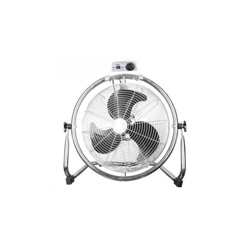 Brasseur d'air industriel oscillant 50 Cm, 130 Watts rotation à 180 °.