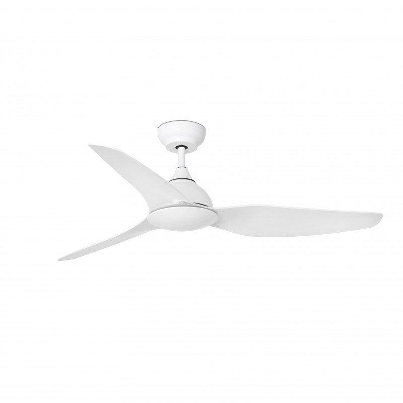 Ventilateur de plafond moderne 132 cm blanc faro polaris 33346