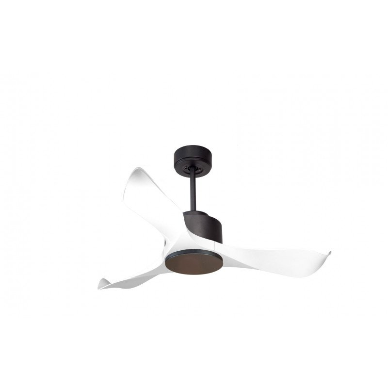 Kl Dc1l1wi Klfan Modulo Dc Ceiling Fan Without Light Gray And White Ideal For 20 To