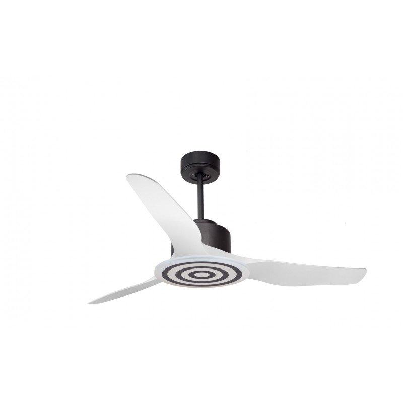 Modulo de KlassFan - Super déstratificateur d'air, sans Lumière gris et blanc idéal pour 25 à 40 m² ultra efficace