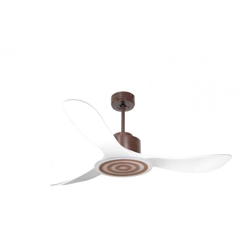 Modulo de KlassFan - déstratificateur d'air, sans Lumière Blanc laqué et noir idéal pour 25 à 40 m² KL_DC4_P3Bk