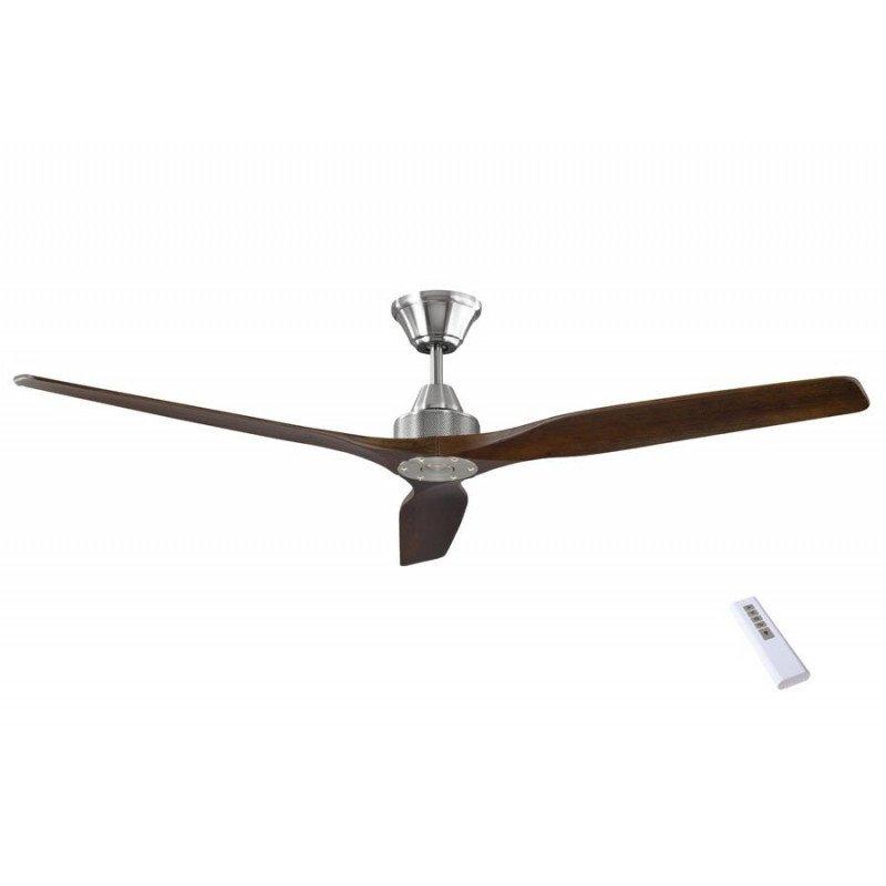 soft un ventilateur de plafond dc design tr s silencieux pales bois. Black Bedroom Furniture Sets. Home Design Ideas