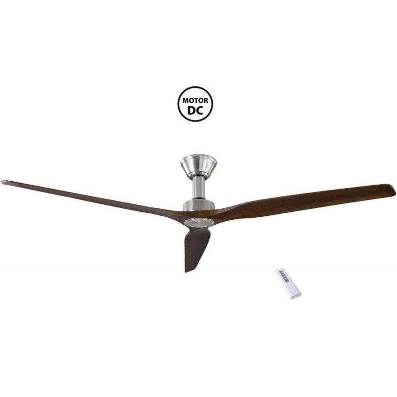 Softy de KlassFan un ventilateurs de plafond DC design avec pales bois grande taile