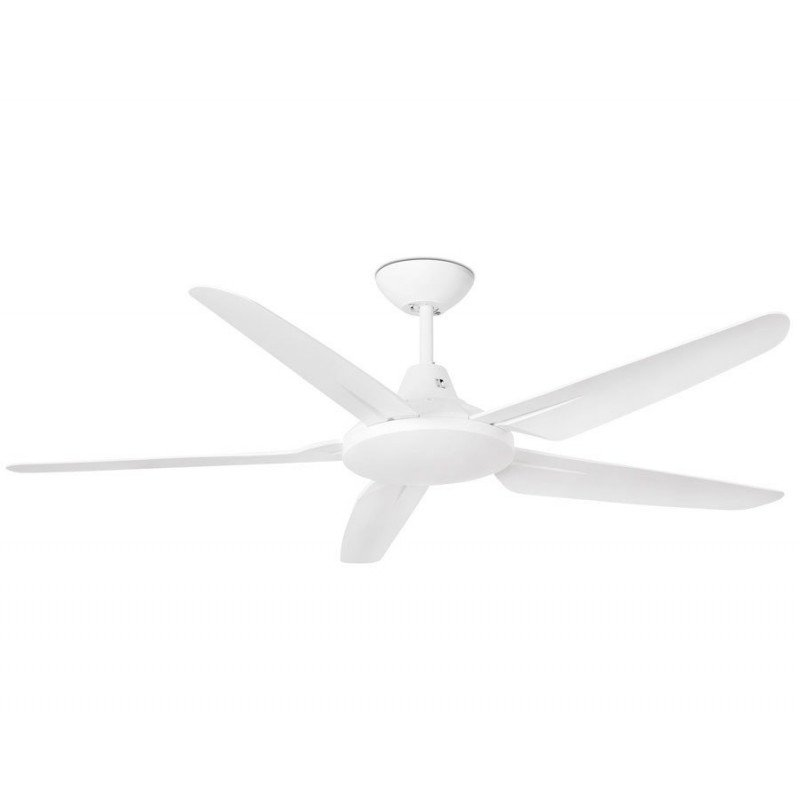 Large ceiling fan, 183 cm, with white abs blades, ideal for large areas - Faro Meno.