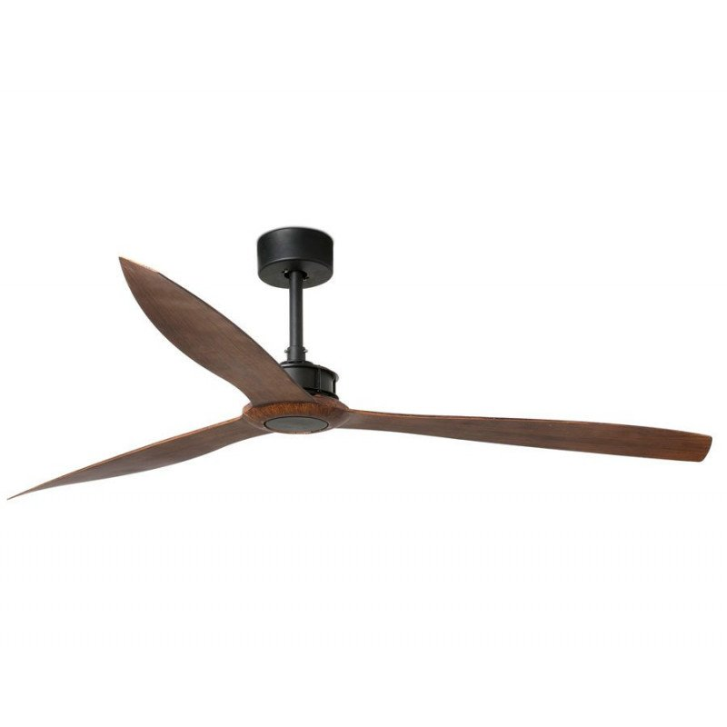 Ventilateur de plafond design, silencieux, DC 178 cm FARO JUST FAN black
