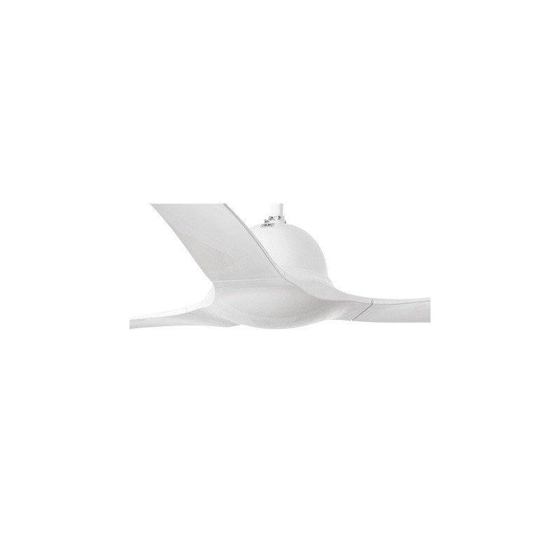 Ventilateur de plafond moderne 132 cm abs blanc faro LAKKI 33317