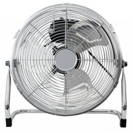 Industrial high velocity fan high performance 40 Cm, 110 Watts with gallows and 180 ° rotation.