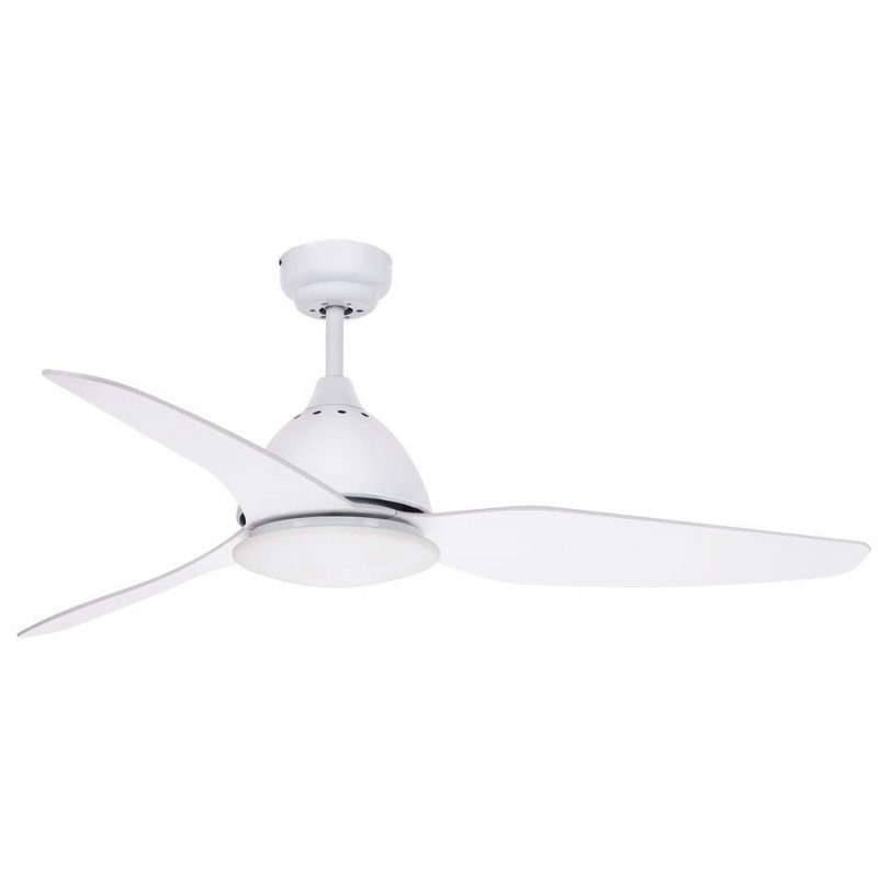 Ceiling fan 132 cm Ultra powerful white led ready light and remote control