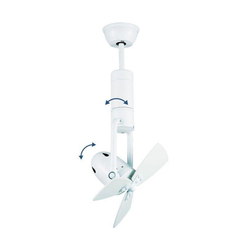 Spot ventilateur de plafond de zone idéal pour la destratification